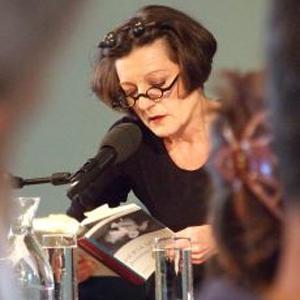 Herta Müller am 7.Mai 2018 in Frankfurt/M. in der Deutschen Nationalbibliothek